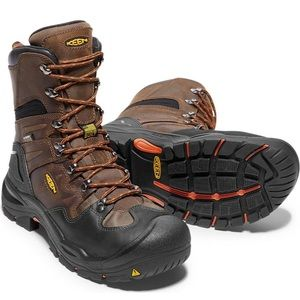 Keen Utility Mens Coburg 8in WP Leather Work Boots